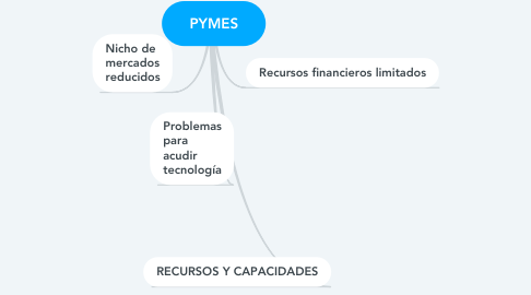 Mind Map: PYMES