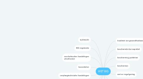 Mind Map: WET BIG
