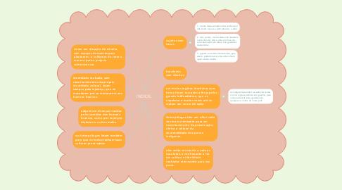 Mind Map: INDIOS.