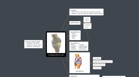 Mind Map: SISTEMA ARTICULAR