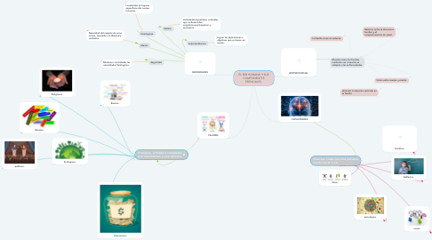 Mind Map: EL SER HUMANO Y SUS COMPONENTES ESENCIALES.