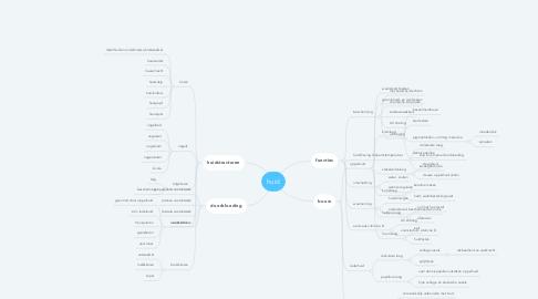 Mind Map: huid