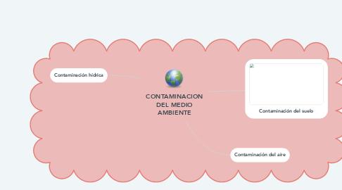 Mind Map: CONTAMINACION DEL MEDIO AMBIENTE