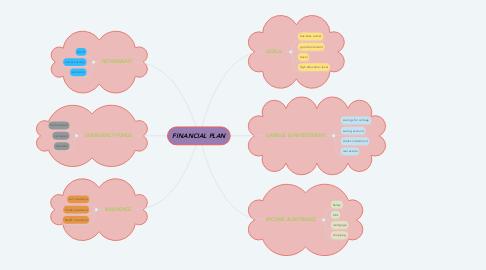 Mind Map: FINANCIAL PLAN
