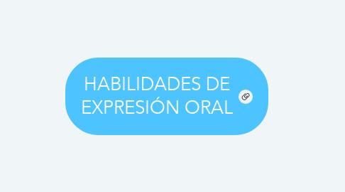 Mind Map: HABILIDADES DE EXPRESIÓN ORAL