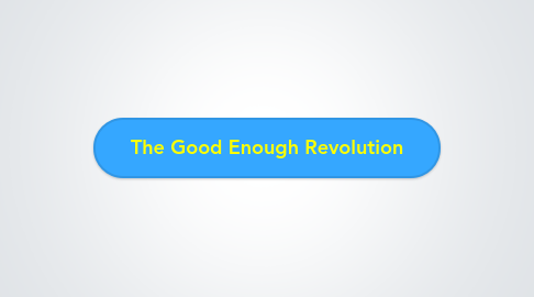 Mind Map: The Good Enough Revolution