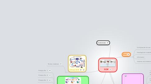 Mind Map: SCM