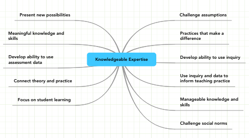 Mind Map: Knowledgeable Expertise