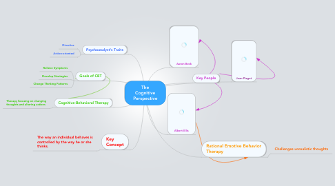 Mind Map: The Cognitive Perspective