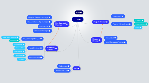 Mind Map: COO