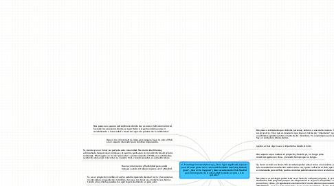 Mind Map: 6. Founding Community Survey: ¿Tiene algún significado especial para tí formar parte de la comunidad fundadora del Hub Madrid? ¿Cuál? ¿Qué rol te imaginas? ¿Qué necesitarías del Hub Madrid para formar parte de la comunidad fundadora como a tí te gustaría?