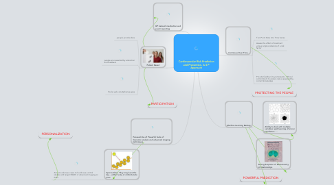 Mind Map: Cardiovascular Risk Prediction and Prevention. A 4 P Approach