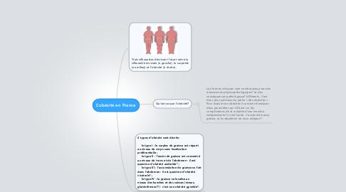 Mind Map: L'obésité en France