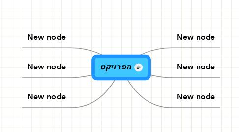 Mind Map: הפרויקט
