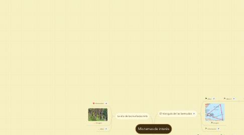 Mind Map: Mis temas de interés