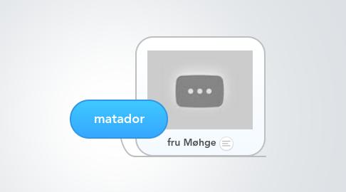 Mind Map: matador