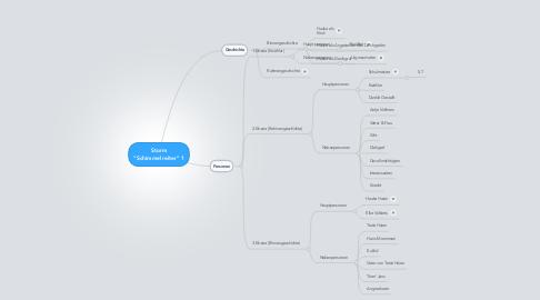 """Mind Map: Storm """"Schimmelreiter"""" 1"""