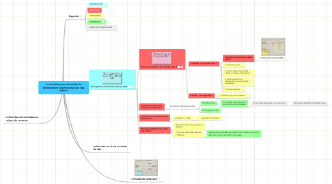 Mind Map: La mindmap pour formaliser le tâtonnement expérimental avec des enfants