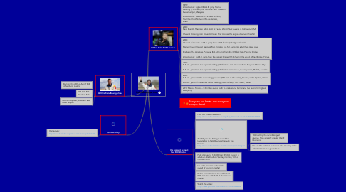 Mind Map: Felix Baumgartner