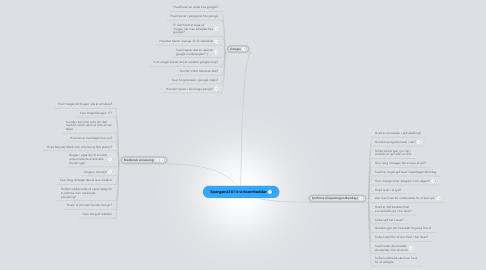 Mind Map: Spørgsmål til it-virksomhedder
