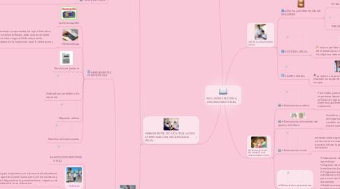 Mind Map: INCLUSIÓN EDUCATIVA DISCAPACIDAD VISUAL