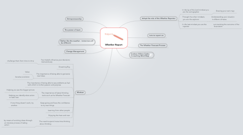 Mind Map: Whether Report