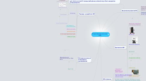 Mind Map: Искусственный интеллект (ИИ)