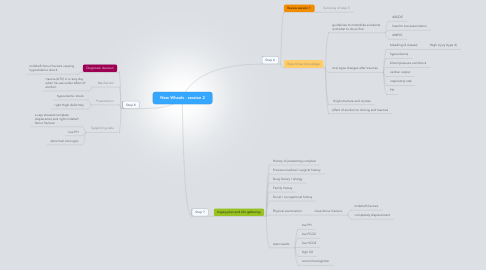 Mind Map: New Wheels - session 2