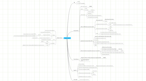 Mind Map: Scenari + moodle