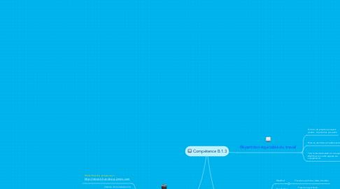 Mind Map: Compétence B.1.3