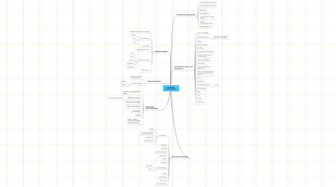 Mind Map: Persönliche Lernumgebung