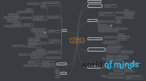Mind Map: Jerre Lubberts (World of Minds)