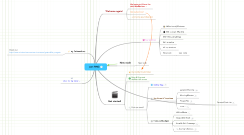 Mind Map: com PiNG