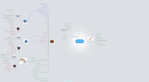 Mind Map: Secteur tertiaire lycée Peytavin