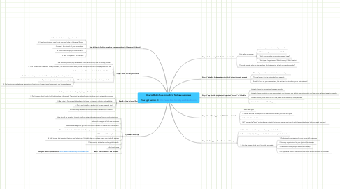 Mind Map: How to REALLY use LinkedIn to find new customers  Free light version at: http://www.how-to-really-use-linkedin.com
