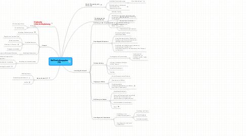Mind Map: Stoffverteilungsplan ITG
