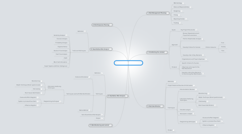 Mind Map: Risk Management Processes