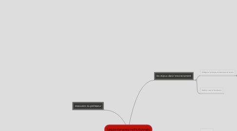 Mind Map: Les partenaires institutionnels