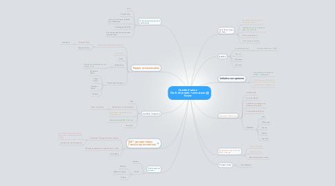 Mind Map: Comité d'action Chefs de projets + animateurs locaux