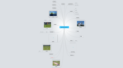 Mind Map: Sports 体育/运动/休闲