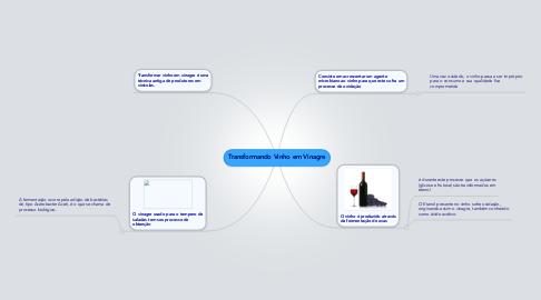 Mind Map: Transformando Vinho em Vinagre