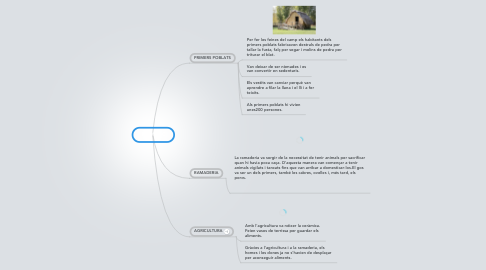 Mind Map: NEOLITÍC