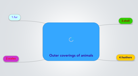 Mind Map: Outer coverings of animals