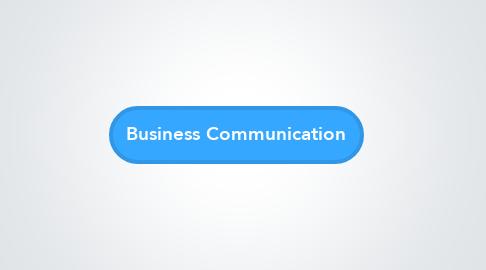 Mind Map: Business Communication