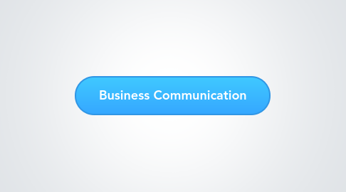 Mind Map: Business Communication