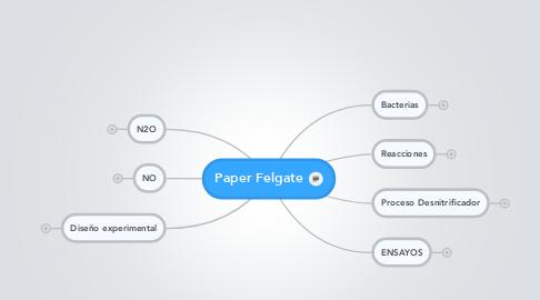 Mind Map: Paper Felgate