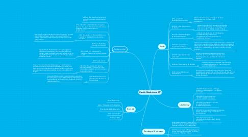 Mind Map: Kamila Bairakimova CV