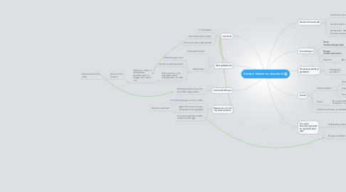 Mind Map: Steden: handel en nijverheid