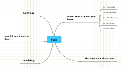 Mind Map: Bears