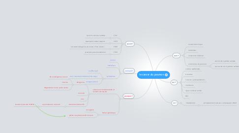 Mind Map: le cancer du poumon